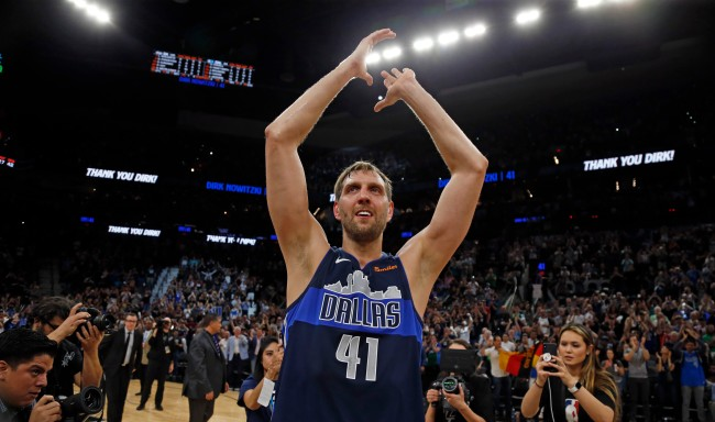 Dirk Nowitzki was left out of the ESPY Awards' tribute video for recently retired athletes and social media was mad