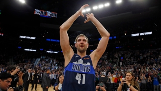Social Media Was PISSED That The ESPYs Didn't Include Dirk Nowitzki In Its Video Honoring Recently Retired Athletes