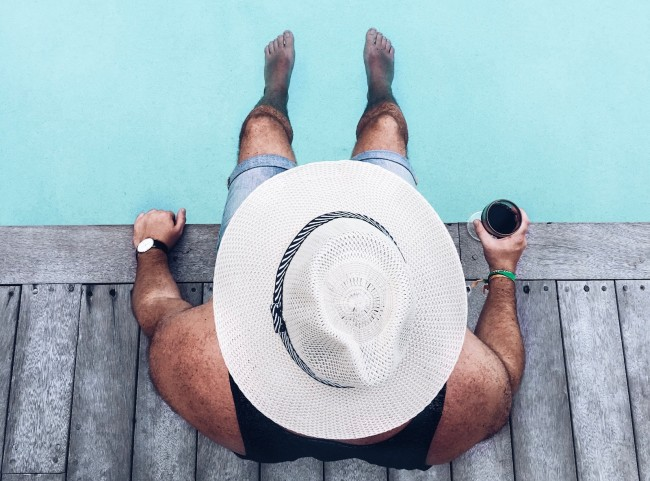 drinking outside skin cancer