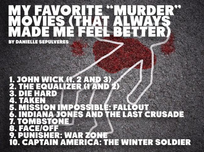 favorite murder movies