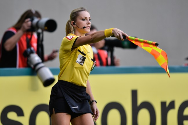 Referee Fernanda Colombo says her viral video led to a creepy email from someone that suggest being paid for sex