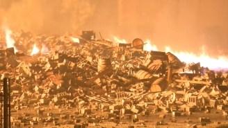 Jim Beam Warehouses Burn Down Destroying 45,000 Barrels Of Bourbon Worth As Much As $330 Million