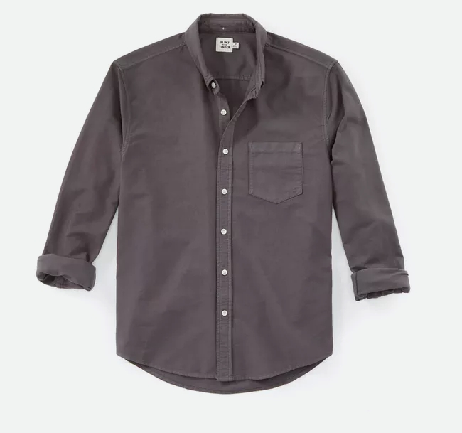 Garment Dyed Oxford
