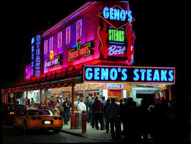 what is an authentic philly cheesesteak