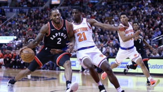 The New York Knicks Reportedly Backed Out Of Meeting With Kawhi Leonard Because They Were Afraid Of Losing Other Free Agents