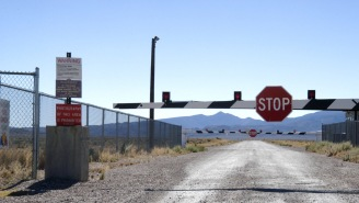 Nevada Resident From Closest Town To Area 51 Shares Video Of UFO As People Prepare To Storm Military Facility