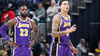 FS1's Jason Whitlock Gets Into Twitter Beef With Lakers' Kyle Kuzma Over LeBron James' Behavior At Son's AAU Game