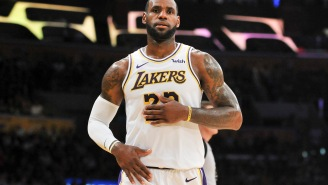 Parent Of AAU Player Tells Story Of How LeBron James Made His Son Cry Tears Of Joy By Giving Him A Pep Talk After Game
