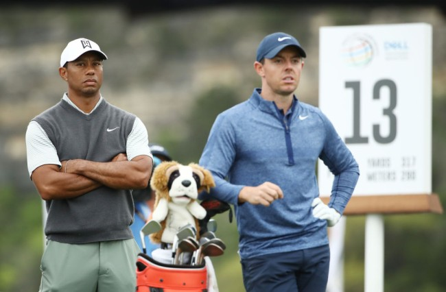 Tiger Rory Skins Match
