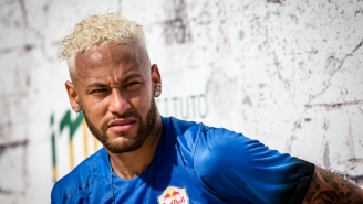 Neymar's Rumored Ex And Playmate Of The Year Accidentally Drives Lamborghini Into Pool In All-Time Whoopsie