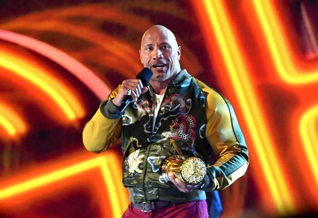 Dwayne The Rock Johnson at 2019 MTV VMAs
