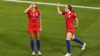 USA's Alex Morgan Trolls England With Tea Sipping Celebration After Scoring Goal In World Cup Semi-Finals