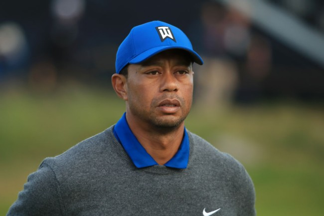 tiger woods the open