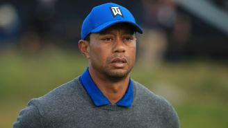 Tiger Woods Looked Worn Out And Uninterested At The Open On Thursday