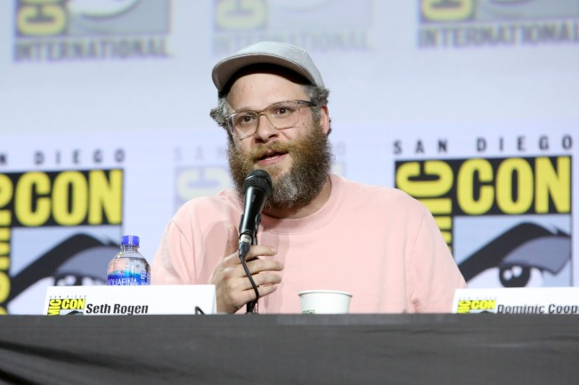 Seth Rogen at 2019 San Diego Comid-Con