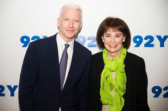 """Gloria Vanderbilt who had a net worth of $200 million said """"there's no trust fund,"""" but the wealthy socialite left most of her fortune to her son Anderson Cooper, while her other son Christopher Stokowski gets nothing."""