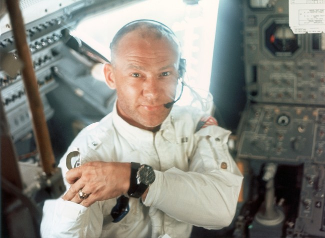 50th anniverary of Apollo 11 mission and looking back at the time Buzz Aldrin punched a moon-landing denier