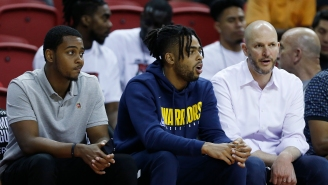 NBA Exec Says The Idea Of Warriors Trading D'Angelo Russell 'Is Stupidest Thing' He's Ever Heard