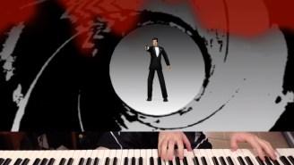 Gamer Speedruns Through 'GoldenEye 007' By Using A Piano As A Controller