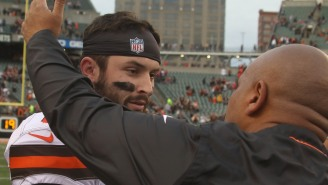 Hue Jackson Responds To Baker Mayfield's 'Revenge' Comments After Beef From Last Season