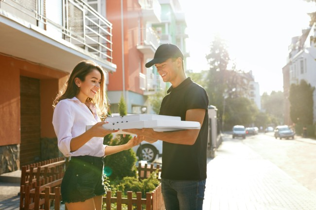 Nearly a third of food delivery people have sampled food they were delivering according to new study.