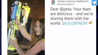 Maryland Crab Restaurant Trolls PETA Hard By Releasing 'PETA Tears' Beer After Billboard Wars