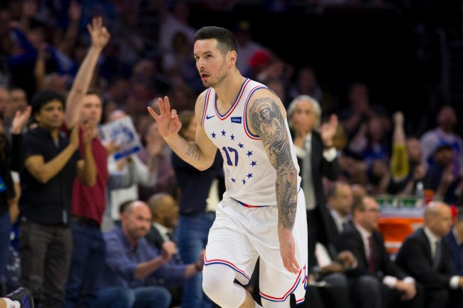 JJ Redick says he created a Twitter burner account just to stay up-to-date with NBA free agency