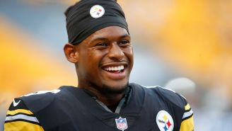 JuJu Smith-Schuster Says Andy Reid Was Sending Him Pictures Of The Lombardi Trophy Trying To Get Him To Sign With Chiefs
