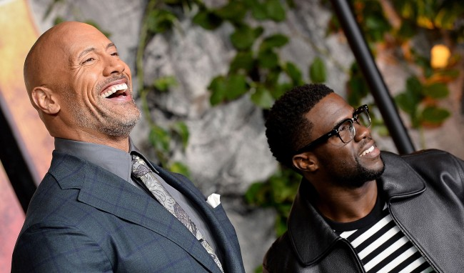 Kevin Hart Trolled On Social Media Again By The Rock (And Some Kids)