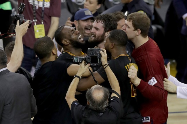 Kevin Love details some of the inspiring words LeBron James told his Cleveland Cavs teammates during 2016 NBA Finals' comeback