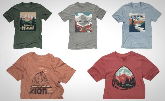 Landmark Project National Park T-Shirts
