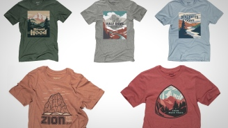 Pay Respect To America's Most Iconic Landmarks With These Sick Custom Tees Inspired By National Parks