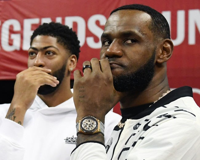 Social media clowned LeBron James over his latest haircut video