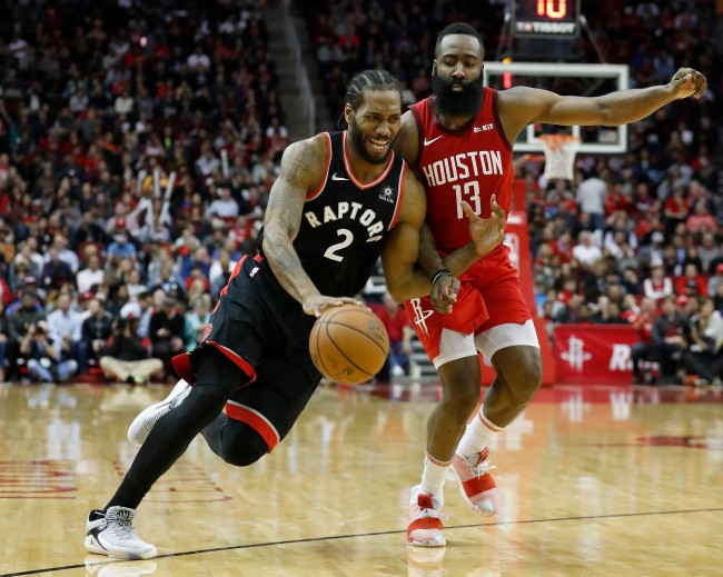 Reports claim the Los Angeles Clippers were trying to trade for James Harden to pair with Kawhi Leonard before acquiring Paul George