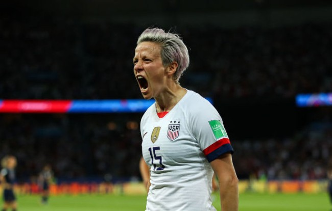 why did megan rapinoe miss world cup semifinals