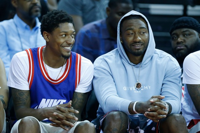 The Miami Heat are reportedly looking at acquiring both John Wall and Bradley Beal from Washington Wizards