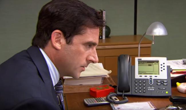 Michael Scott Best Phone Calls