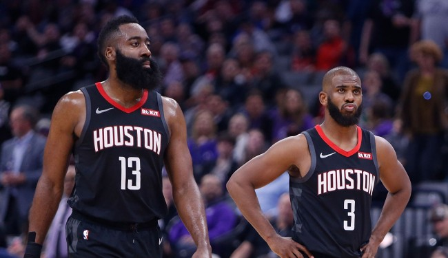 NBA Insider Details Chris Paul James Harden's Playoff Argument