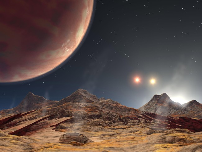 Newfound Planet With 3 Red Suns Best Chance To Find Alien Life