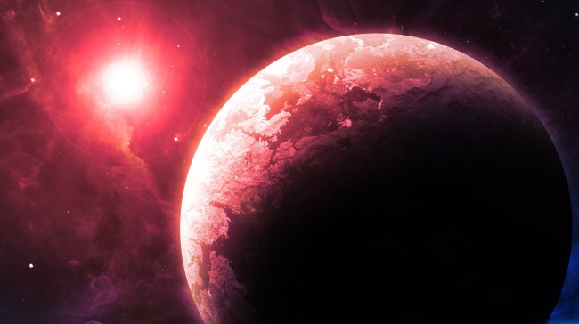 Newfound Planet With 3 Red Suns Could Best Chance To Find Alien Life