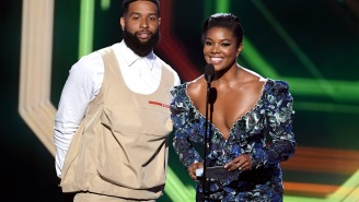 Odell Beckham Jr.'s ESPY Outfit Was Something, Guys, So The Internet Mocked It By Turning It Into A Meme