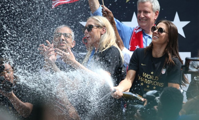 Photos And Videos Of The US Womens National Team World Cup Parade