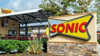 'This One's On God' Claimed The Bicycle-Riding Thief As She Jacked A Meal From Sonic