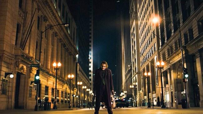 joker in the street