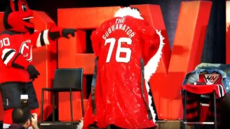 The New Jersey Devils Epic Celebration Welcoming P.K. Subban To The Team Included An Amazing Ric Flair Robe