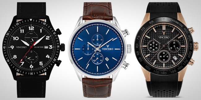 things we want Vincero Watches