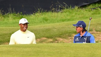 Tiger Woods Reportedly Had A Savage Response When Rickie Fowler Asked Him What He Thought Of The Open Course