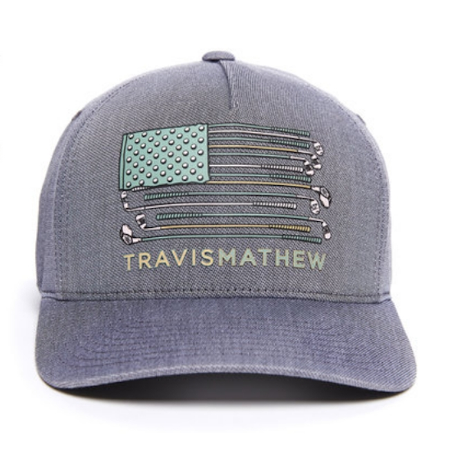Travis Mathew Flag Club Hat