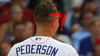 Twitter Lost Its Damn Mind Trying To Figure Out WTF Was On Joc Pederson's Neck During The Home Run Derby