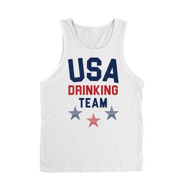 USA Drinking Team Tank
